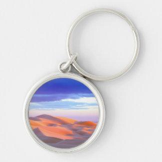 Glamis Sand Dunes at sunset Key Ring
