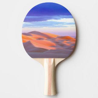 Glamis Sand Dunes at sunset Ping Pong Paddle