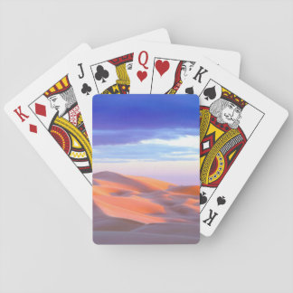 Glamis Sand Dunes at sunset Playing Cards