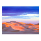 Glamis Sand Dunes at sunset Postcard