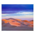 Glamis Sand Dunes at sunset Poster