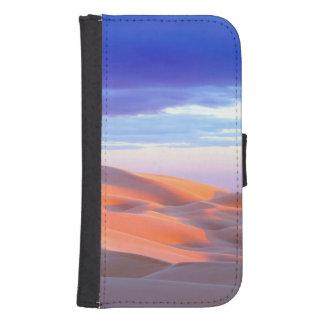 Glamis Sand Dunes at sunset Samsung S4 Wallet Case