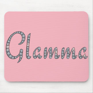 Glamma bling mouse pad