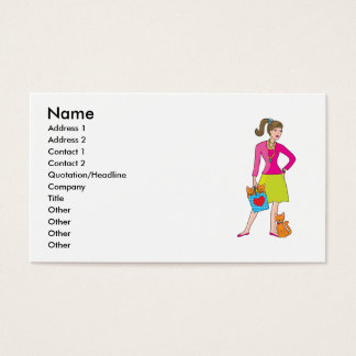 Glamor Girl Business Card