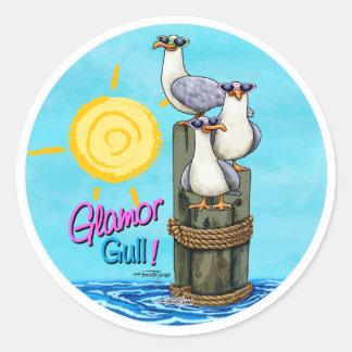 Glamor gull - Girlfriends stickers