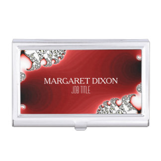 Glamor Sparkle Jewelry/Jewellery Personalized Case For Business Cards