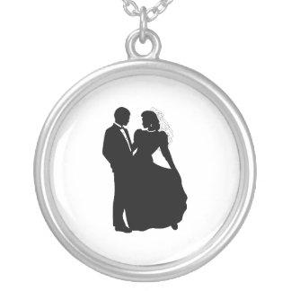 glamorous Bride and Groom Pendant