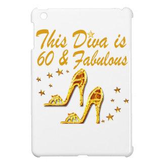 GLAMOROUS GOLD 60TH BIRTHDAY iPad MINI CASES