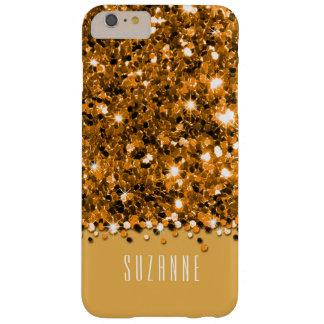 Glamorous Gold Sparkly Glitter Confetti Case