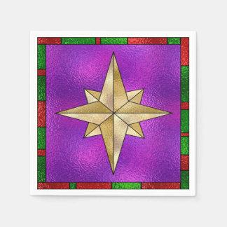Glamorous Gold Star Disposable Napkin