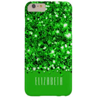 Glamorous Green Sparkly Glitter Confetti Case
