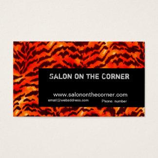 Glamorous Hair Dresser Salon Boutique Business Card