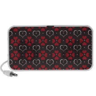glamorous hearts iPhone speakers