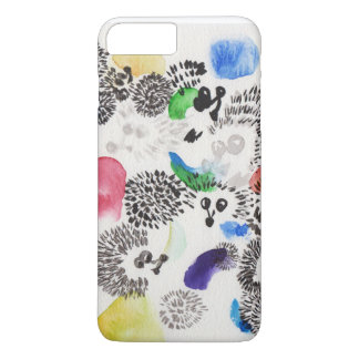 glamorous hedgehog iPhone 8 plus/7 plus case