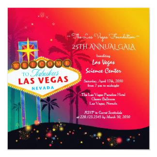 Glamorous Las Vegas Annual Charity Gala Card