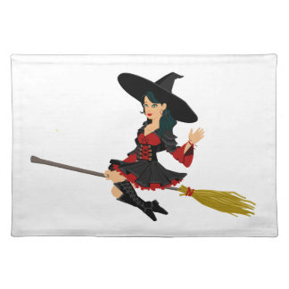 Glamorous Little Witch Placemat
