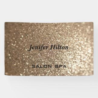Glamorous modern chic glittery