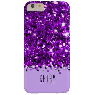 Glamorous Purple Sparkly Glitter Confetti Case