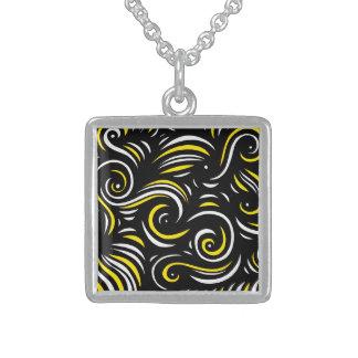 Glamorous Retro Perfect Crazy Square Pendant Necklace
