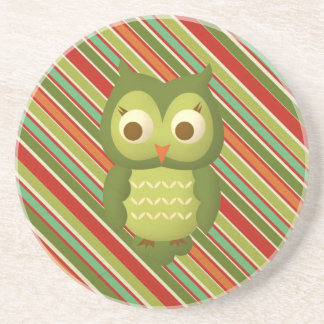 Glamorous Wise Owl Coaster