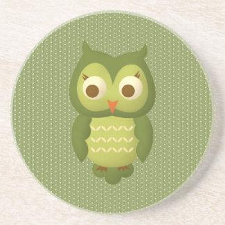 Glamorous Wise Owl Coasters