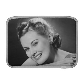 Glamorous Woman Sleeve For MacBook Air