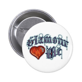Glamour Pinback Buttons