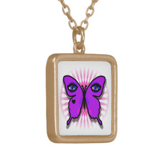 Glamour Butterfly Small Necklace