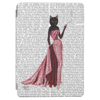 Glamour Cat in Pink 2 iPad Air Cover