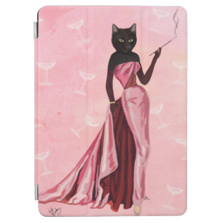 Glamour Cat in Pink iPad Air Cover