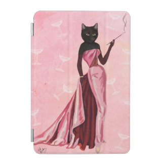 Glamour Cat in Pink iPad Mini Cover