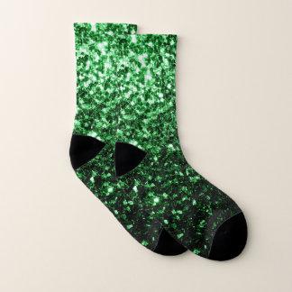 Glamour Dark Green glitter sparkles 1
