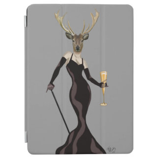 Glamour Deer in Black 2 iPad Air Cover