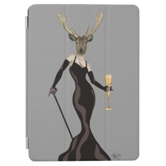 Glamour Deer in Black 3 iPad Air Cover
