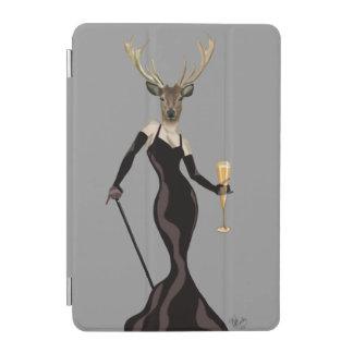 Glamour Deer in Black 3 iPad Mini Cover