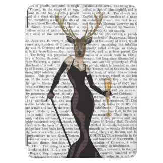 Glamour Deer in Black iPad Air Cover