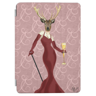 Glamour Deer in Marsala 2 iPad Air Cover