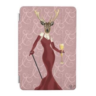 Glamour Deer in Marsala 2 iPad Mini Cover