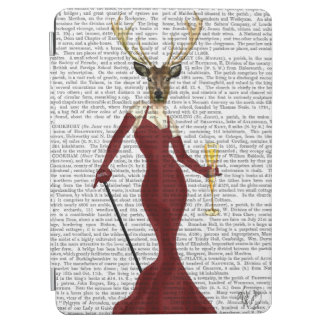 Glamour Deer in Marsala iPad Air Cover