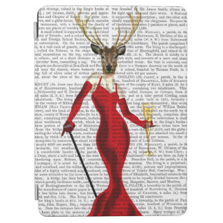 Glamour Deer In Red iPad Air Cover