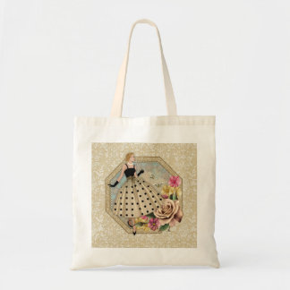 Glamour Fashoion Of The 50's Budget Tote