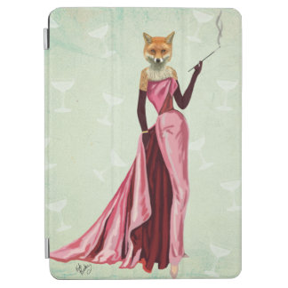 Glamour Fox in Pink 2 iPad Air Cover