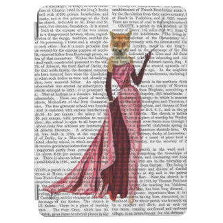 Glamour Fox in Pink iPad Air Cover