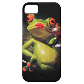 Glamour Frog Smoke iPhone 5 Covers