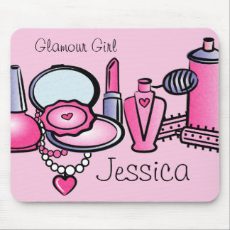 Glamour Girl Birthday Mouse Mat
