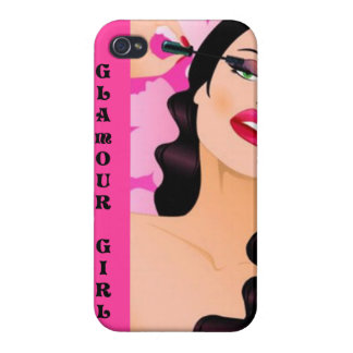Glamour Girl - iPhone 4 Case