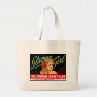 Glamour Girl Jumbo Tote Bag
