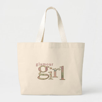 Glamour Girl Large Tote Bag