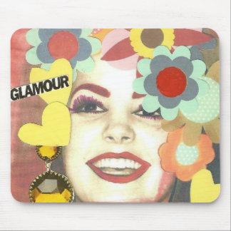 Glamour Girl Mixed Media Mousepad