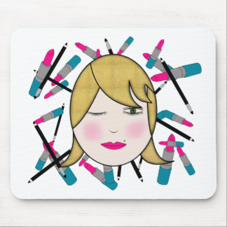 Glamour Girl Mouse Pad